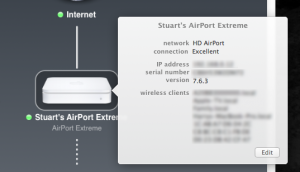 Can an Airport Extreme hook up to another - Apple Community