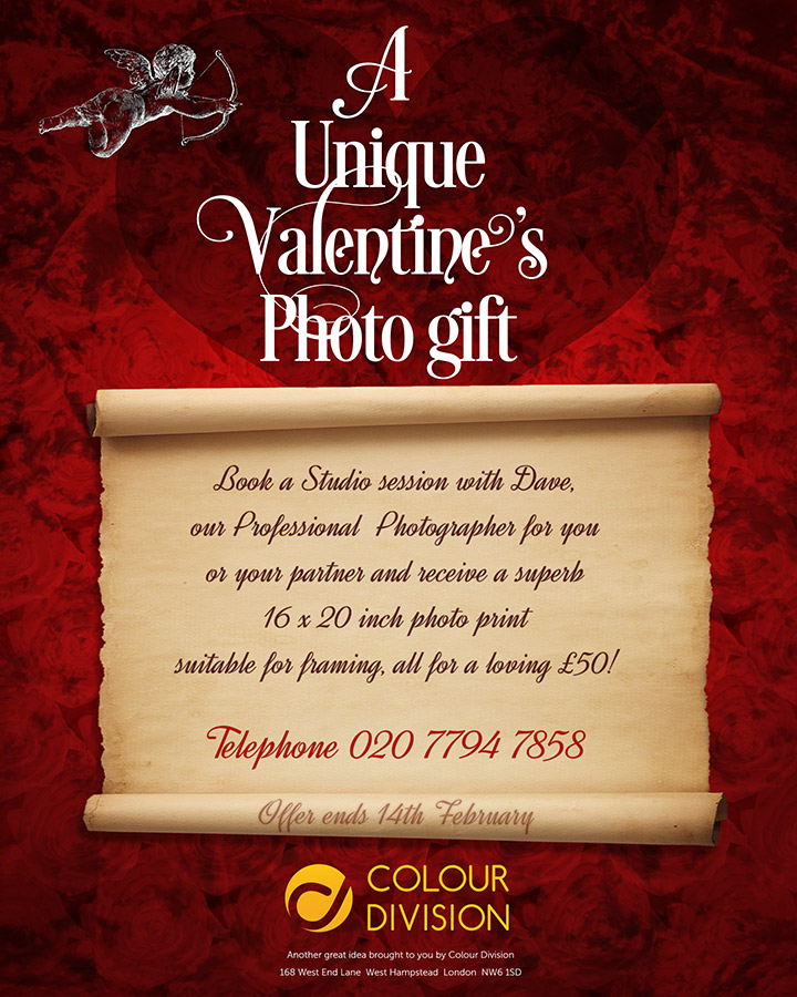 Valentines Photo Session Poster