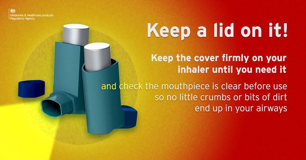 Inhaler Safety Graphic